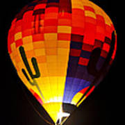 The Saguaro Balloon  Poster