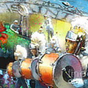 The Saints Parade In New Orleans 2010 01 Poster