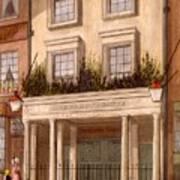 The Sans Pareil Theatre, 1826 Poster