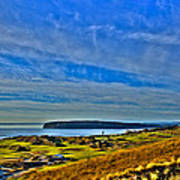 The Scenic Chambers Bay Golf Course II - Location Of The 2015 U.s. Open Tournament Poster