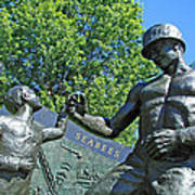 The Seabees At Arlington Poster