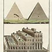The Seven Wonders Of The World Poster by Splendid Art Prints