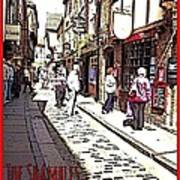 The Shambles York Poster