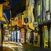 The Shambles York Uk Poster