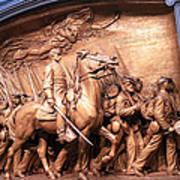 Saint Gaudens' The Shaw Memorial Poster
