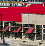 The Shipyards In Vancouver Poster