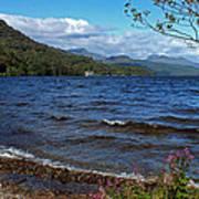 The Shore Of Loch Lomond  Poster