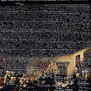 The Signing Of The United States Declaration Of Independence V2 Poster