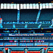 The Stands At Oriole Park Poster