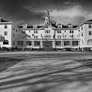 The Stanley Hotel Bw Poster