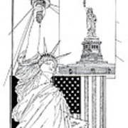 The Statue Of Liberty Poster