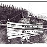 The Steamer Virginia V Poster