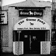 The Stone Pony Poster by Colleen Kammerer