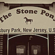 The Stone Pony Vintage Asbury Park New Jersey Poster