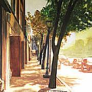 The Street Poster by Alyssa Kerr