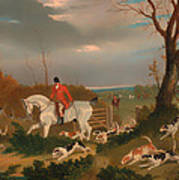 The Suffolk Hunt Poster