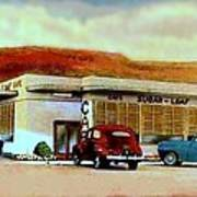 The Sugar Loaf Cafe In St. George Ut In The 40's Poster
