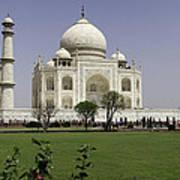 The Taj Mahal In Agra. Poster