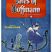 The Tales Of Hoffmann, Poster Art, 1951 Poster
