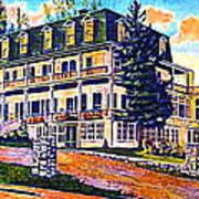 The Tavern Inn In Wilmington N Y In 1910 Poster