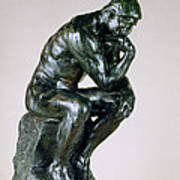 The Thinker, 1880-81 Poster
