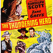 The Thundering Herd, Aka Buffalo Poster