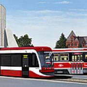 The Toronto Streetcar 100 Years Poster