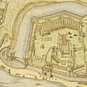 The Tower Of London, From A Survey Made Poster