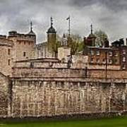 The Tower Of London Uk The Historic Royal Palace Poster