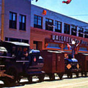 The Train In The Parade Poster