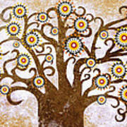 The Tree Poster by Sergey Khreschatov