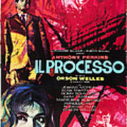 The Trial, Aka Il Processo, From Top Poster