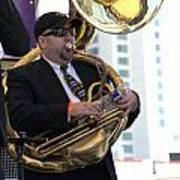 The Tuba Player Poster