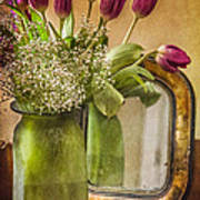 The Tulips Stand Arrayed - A Still Life Poster