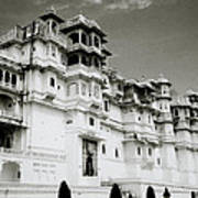 The Udaipur City Palace  Poster