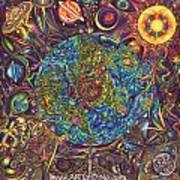 the UNIVERSE mandala Poster by DiNo
