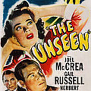 The Unseen, Us Poster Art, Top Gail Poster