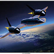 The Untouchable  Sr-71 Blackbird Poster