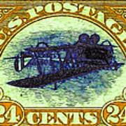 The Upside Down Biplane Stamp - 20130119 - V3 Poster