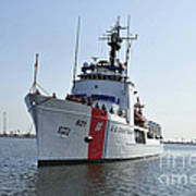 The U.s. Coast Guard Cutter Valiant Poster