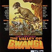 The Valley Of Gwangi, Us Poster Art Poster