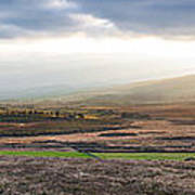The Valleys In Wicklow Ireland Poster