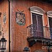 The Venetian Balcony Poster