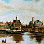 The View Of Delft Poster