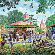 The Village Fayre  Poster