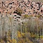 The Village Of Abyaneh In Iran Poster