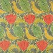 The Voysey Birds Poster