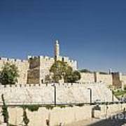 The Walls Of Jerusalem Old Town Israel Poster