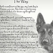 The Way Poster by Sue Long