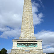 The Wellington Monument Poster